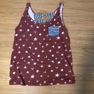 Disney Parks Minnie Mouse Tank Top